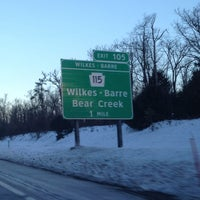 Photo taken at PA Turnpike Exit 105 by Marty on 1/3/2013
