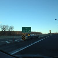Photo taken at PA Turnpike Exit 105 by Marty on 12/19/2012