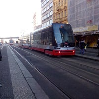 Photo taken at Bílá labuť (tram, bus) by Patricie D. on 12/27/2013