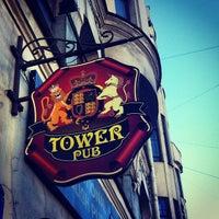 Снимок сделан в Tower Pub пользователем ндрей . 9/21/2012