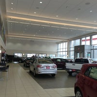 Photo taken at Luther Brookdale Toyota by Gordon V. on 2/25/2013