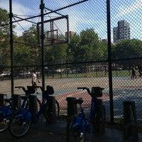 Photo taken at Sara Delano Roosevelt Park Playground by Danyel S. on 7/27/2013