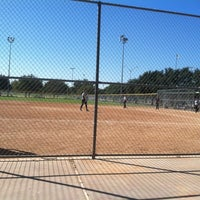 Photo taken at Krieg Field Softball Complex by Francisco H. on 10/28/2012