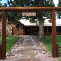 Photo taken at Double Arrow Lodge by Ed C. on 8/15/2014