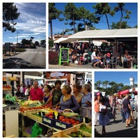 Photo taken at Marché du Cap Ferret by Jacques F. on 9/20/2014