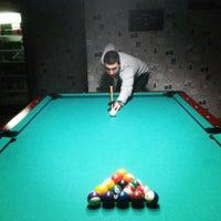 Photo taken at SportHouse Bilardo Salonu by Gençtan Erman U. on 12/5/2013