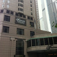 Photo taken at Fairmont Chicago by Kristin B. on 10/23/2012