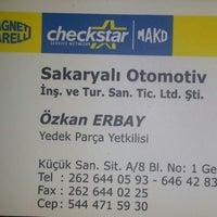 Photo taken at Sakaryalı Oto Elektrik - Klima by Oguz Han E. on 8/1/2013