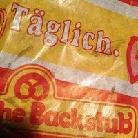 Photo taken at Badische Backstub' by Georg B. on 12/27/2012