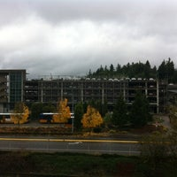 Photo taken at Eastgate Park & Ride by Dana H. on 11/5/2013