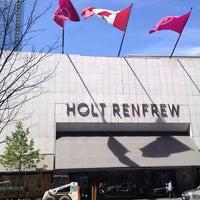 Photo taken at Holt Renfrew Centre by Susan P. on 5/27/2013