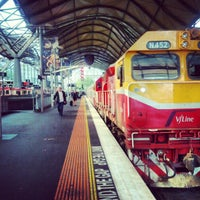 Photo taken at Southern Cross Station by Ariel A. on 2/28/2013