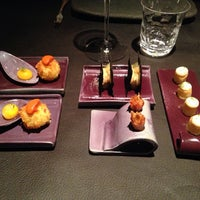 Photo taken at Sergi Arola Restaurante by Eneko G. on 10/5/2013
