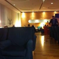 Photo taken at Lufthansa Senator Lounge by Laurence H. on 11/9/2012