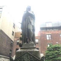 Photo taken at New York City Marble Cemetery by Laurence H. on 6/11/2016
