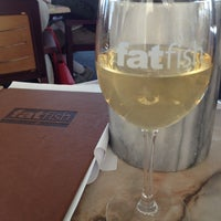 Photo taken at fatfish Wine Bar & Bistro by Rob D. on 5/27/2013