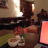 Photo taken at Oolong Flower Power Tea Shop by Jens A. on 11/2/2013