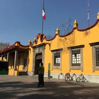 Photo taken at Delegación Coyoacán by Rafael A. on 12/12/2016