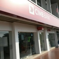 Photo taken at CIMB Bank by thereal. a. on 8/22/2014
