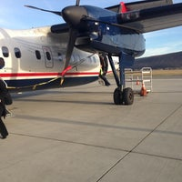 Photo taken at Elmira / Corning Regional Airport (ELM) by Melissa D. on 12/6/2012