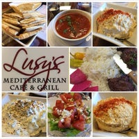 Photo taken at lusy's Mediterranean Cafe and Grill by John S. on 3/19/2014