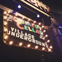 Photo taken at Comedy Cellar at The Village Underground by Jennifer L. on 10/6/2013