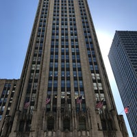 Photo taken at Tribune Tower by Bill D. on 5/18/2017