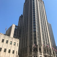 Photo taken at Tribune Tower by Bill D. on 5/12/2017
