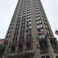 Photo taken at Tribune Tower by Bill D. on 5/5/2017