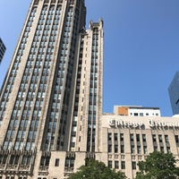 Photo taken at Tribune Tower by Bill D. on 8/25/2017