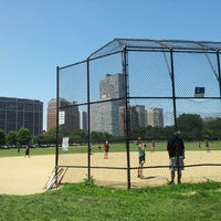 Photo taken at Waveland Park by Fernando V. on 7/14/2013