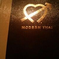 Photo taken at Modern Thai by Linda G. on 12/21/2013
