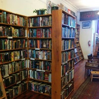 Photo taken at Borderlands Books by Linda G. on 1/19/2015