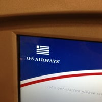 Photo taken at US Airways Check In by Troy P. on 3/31/2013
