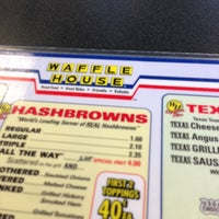 Photo taken at Waffle House by Troy P. on 4/19/2013