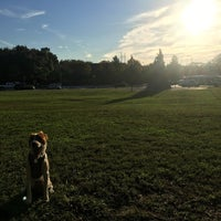 Photo taken at Lincoln Statue Dog Park by Austin H. on 10/12/2016