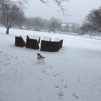 Photo taken at Lincoln Statue Dog Park by Austin H. on 1/7/2017