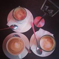 Photo taken at Café Café by Katie H. on 11/1/2014