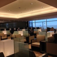 Photo taken at ANA Lounge - Main Bldg. North by Teppei S. on 1/23/2013