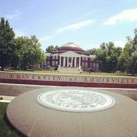 Photo taken at University of Louisville by Karen F. on 7/11/2013