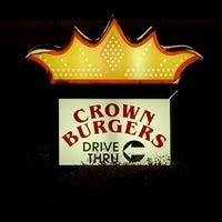 Photo taken at Crown Burger by Derek L. on 1/12/2017