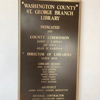 Photo taken at Washington County Library by Derek L. on 11/10/2016