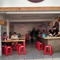 "Photo taken at Birria Tatemada ""El Jalisco"" by Ricardo F. on 10/4/2014"