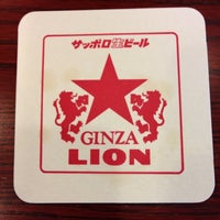 Photo taken at Ginza Lion by Robin S. on 6/22/2013