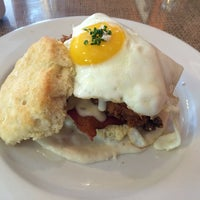 Photo taken at Napa Valley Biscuits by Mike B. on 4/23/2014