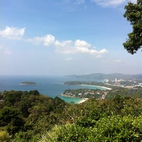 Photo taken at Karon View Point by Googol L. on 1/20/2013