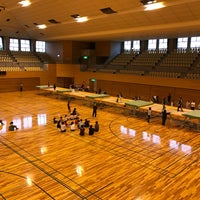 Photo taken at 越谷市立総合体育館 by 服部 雄. on 11/23/2016