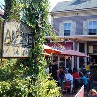 Photo taken at Art Cafe of Nyack by Erik C. on 9/7/2015
