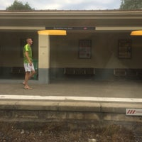 Photo taken at Gare SNCF de Beaulieu-sur-Mer by Michael F. on 7/9/2017