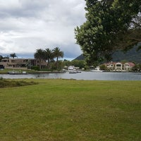 Photo taken at Pauanui Waterways by Simon G. on 9/30/2017